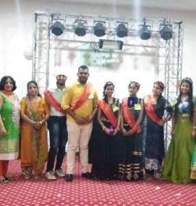 FRESHER PARTY ORGANIZED FOR STUDENTS OF MA I