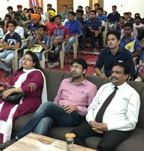 'Towards Financial Freedom and Self –Reliance' Seminar held in Kamla Lohtia Sanatan Dharam College.