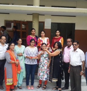Students of M.A. Economics 2nd Semester of Kamla Lohtia S. D. College, Ludhiana brought laurels to the institution