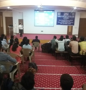A Seminar on Cyber Security Awareness was organised on the Premises