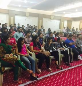 Interactive Session with an alumni at Kamla Lohtia S.D. College,Ludhiana