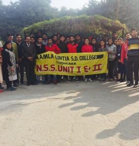 NSS Camp inaugurated at Kamla Lohtia Sanatan Dharam College, Ludhiana