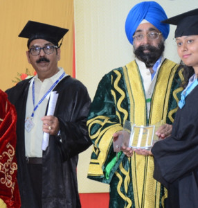 Convocation-2017 at Kamla Lohtia S.D. College, Ludhiana
