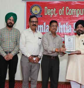 "A ""Two Days Entrepreneurship Awareness Programme"" held at Kamla Lohtia S.D. College, Ludhiana"