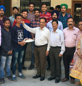 BBA students of Kamla Lohtia S.D. College excel in PU Examination