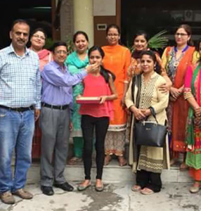 B.Com students of Kamla Lohtia S.D. College excel in PU Examination