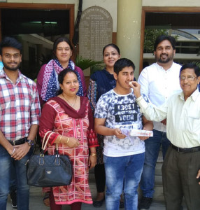 M.Sc. IT 1st Semesterstudent of Kamla Lohtia S.D. College bags University Position