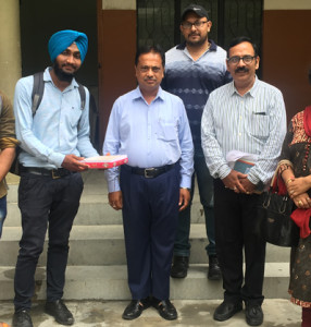 BCA 6th Semester students of Kamla Lohtia S.D. College excel in Panjab University Examination