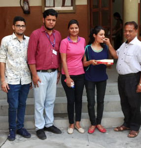 Splendid results of KLSD Students in M.Com 2nd Sem – Shivangi bags University Position