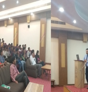 Presentation on Awareness regarding e-Services by Municipal Corporation through Axis Bank at KlSD College, Ludhiana
