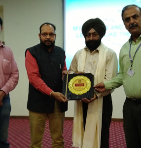 Interactive Session on 'Business Games on Team Building' organized at KLSD College
